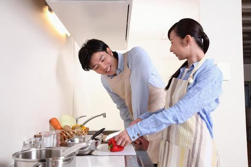 Couple cuisine 2
