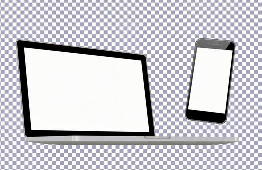 Smartphones / Laptops-PSD files that are easy to mock and synthesize