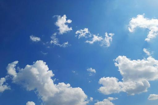 Clouds background empty