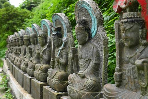 "Fukou-ji Temple ""Stone Buddha"""