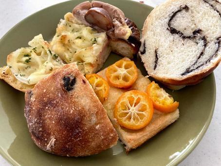 빵에서 점심
