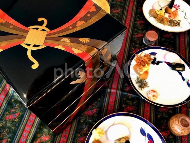 おせち料理の写真