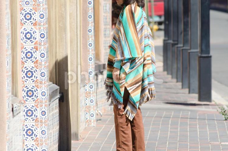 サンタフェの街並2の写真