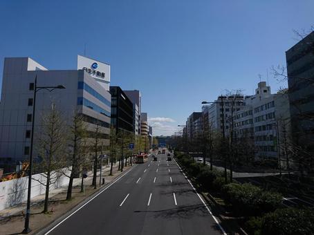 Niigata cityscape