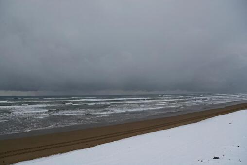 日本海冬季海