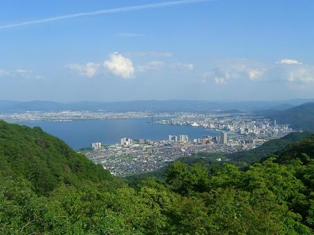View from Hiei Mountain 002