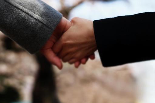 Couple's hand 2