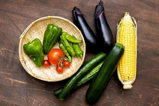 Summer vegetable