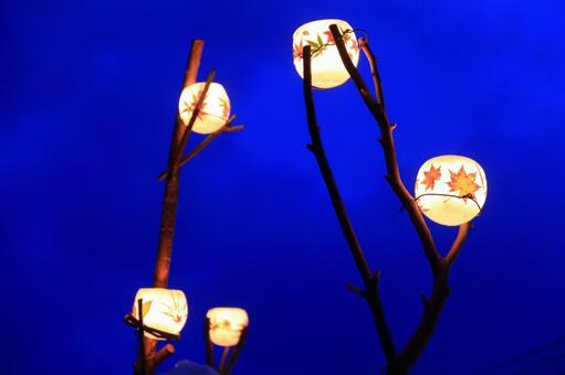 Otaru snow light path (wax bowl) 1