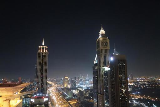 두바이 야경