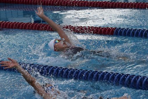 Backstroke First Prize