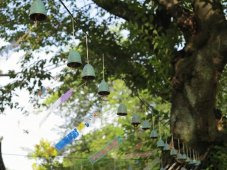 Wind bell of Ikegami Honmonji Tanabata