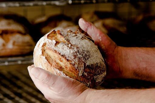 新鮮出爐的麵包8