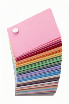 Sample color book