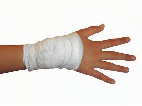 Bandage injury