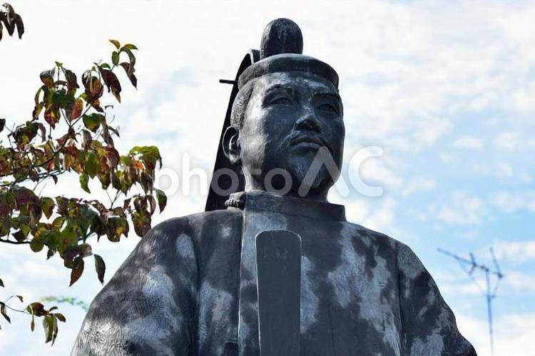 足利尊氏像の写真