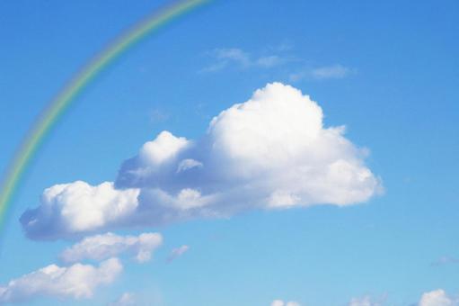 푸른 하늘과 무지개 4