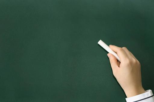 No handwriting to write on the blackboard