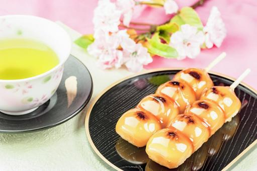 Hanami dumpling