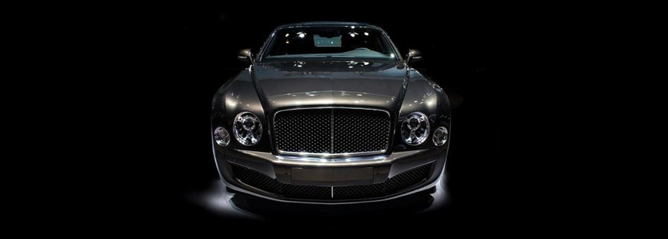 Imported car luxury image background background free copy space Bentley