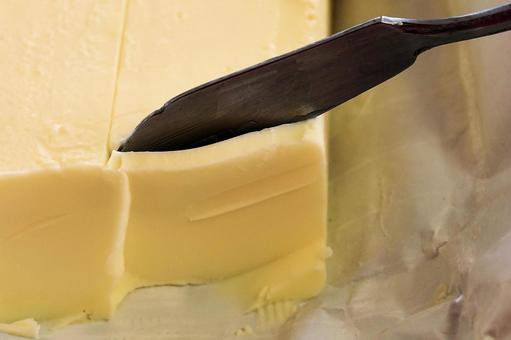 Where you are cutting butter