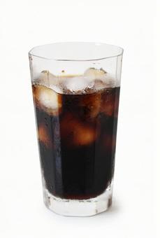 Ice coffee (psd background transparent)