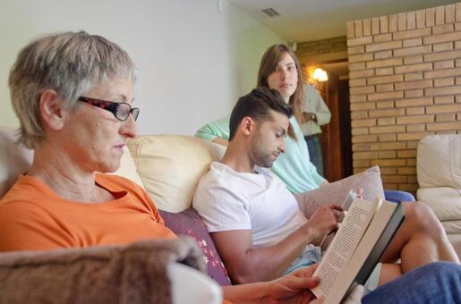 Relaxing family 6