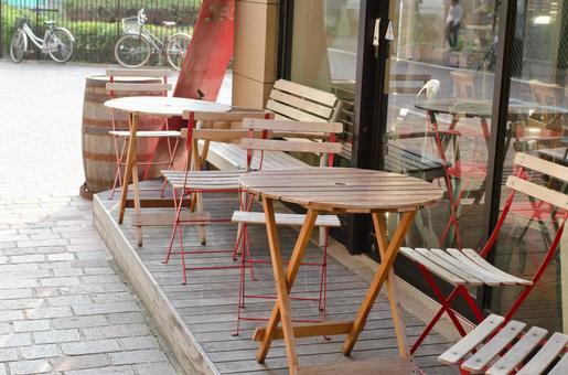 咖啡館露台
