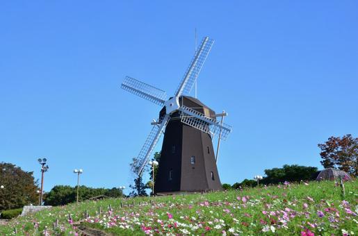 Windmill of Tsurumi-based ground 1