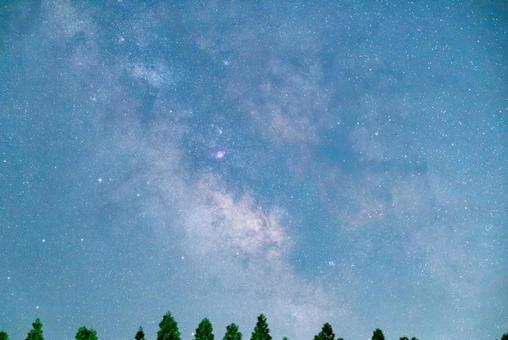 銀河系的中心