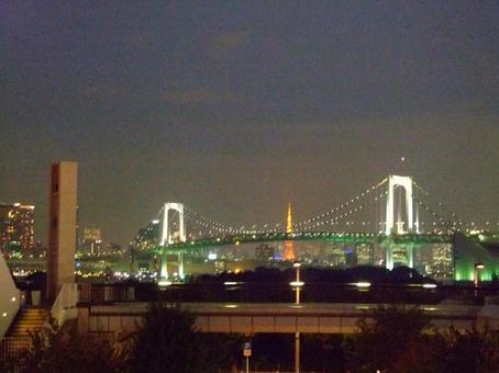 Tokyo Odaiba night view