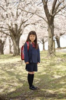 Elementary school girl 16