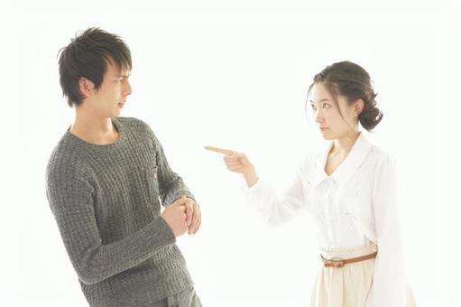 Fighting couple 3