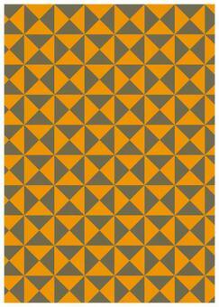 Geometric texture ribbon yellow
