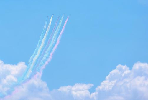 Blue Impulse Exhibition Flight 3