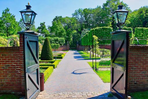 Image of European parks and gardens