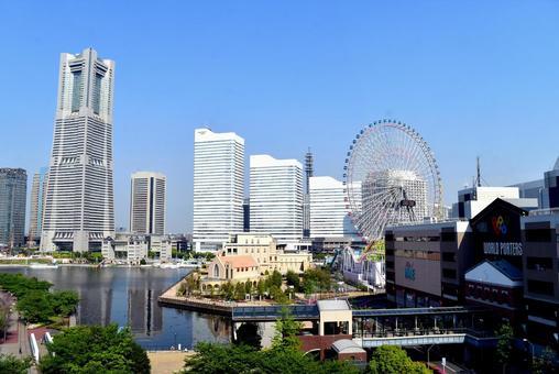 Scenery of Yokohama