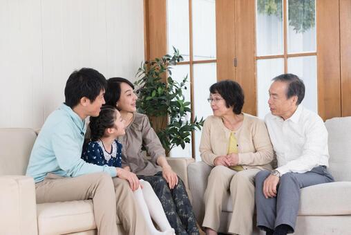 Talking third generation family 2