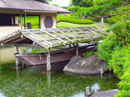 Showa Kinen Park Japanese Garden (Shipyard and Azumaya)