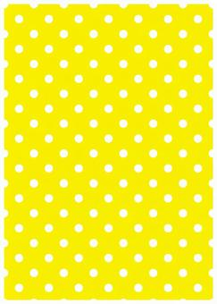 Yellow background and white dot