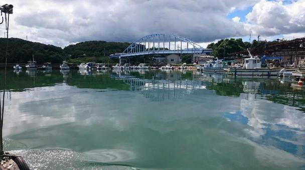 Port in the Shokake district