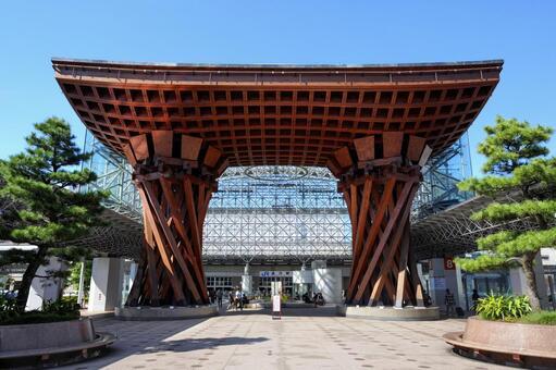 Kanazawa Station Tsuzumi-mon