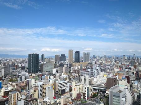 오사카 시가지