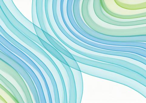 Background Texture Watercolor Sea Splash Water Wave Wave Curve Blue Green