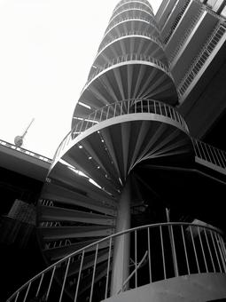 Stairs 22 - spiral staircase