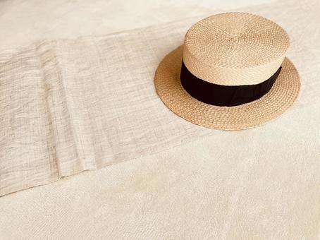 Old straw hat