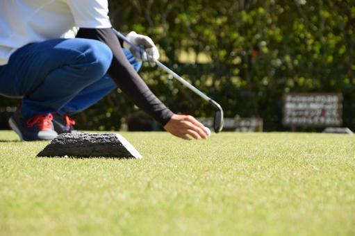 Men who tee up at golf