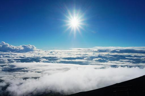 Mt. Fuji and the sea of clouds