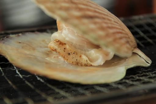 Scallop grilled 2