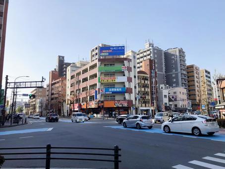 福岡シティ 野間四つ角交差点